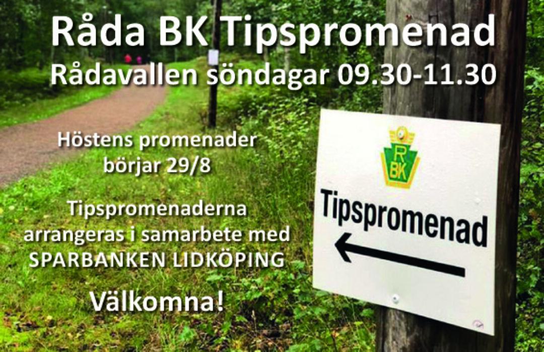 Råda BK Tipspromenad